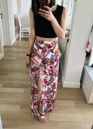 Шикарная длинная юбка от love.