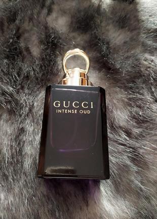 Gucci intense old  парфюмированая вода оригинал.