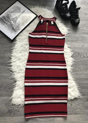 Стильное очень красивое платье в полоску в идеальном состоянии 🖤 river island 🖤