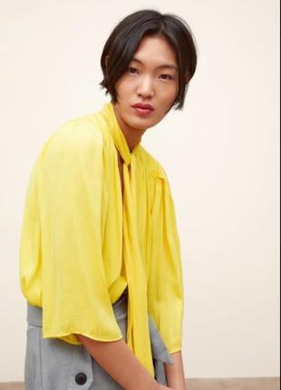 Zara  яркая блузка