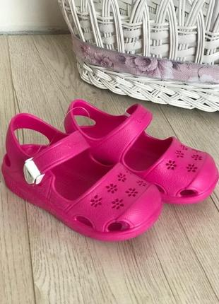 Детские сандалии из пенорезины, очень легкие