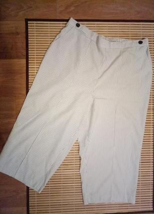 Летние брюки капри бриджи батал