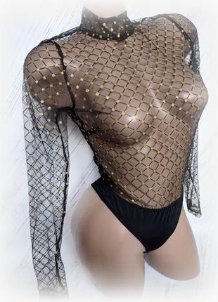 Сексуальное боди в сеточку от plt size usa 2