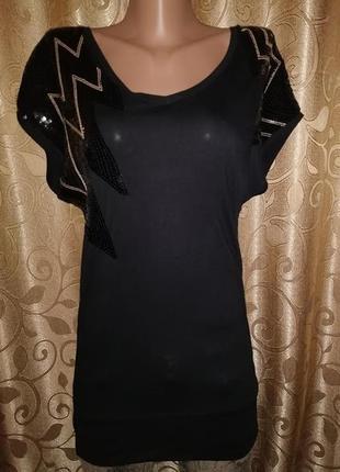 🌹🌹🌹красивая женская удлиненная футболка, туника от h&m🌹🌹🌹