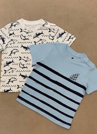 Комплект футболок lupilu набор футболка майка лупилу