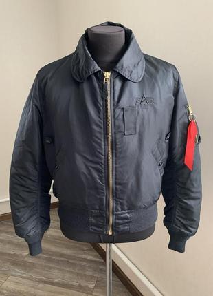 Alpha industries mens jacket чоловічий бомбер курточка розмір м