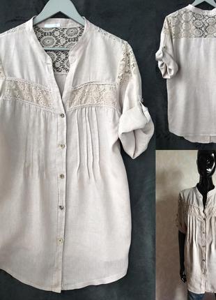 Льняная рубашка италия идеал м