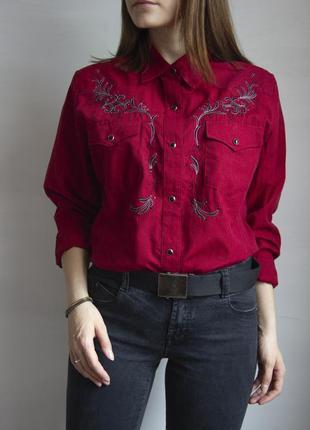 Шикарная рубашка в стиле вестерн от stars&stripes