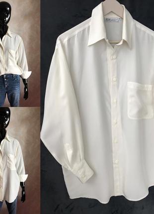 Шёлковая рубашка в идеале s или оверсайз