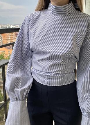 Рубашка/блуза из хлопка topshop