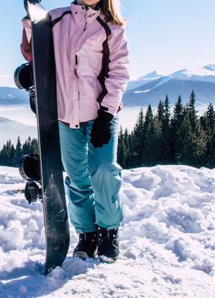 Стильная лыжная куртка anzoni
