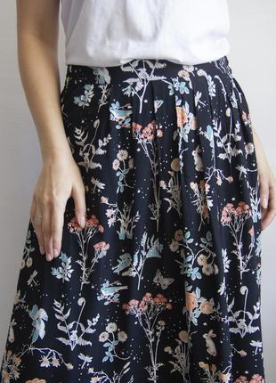 Невероятной красоты юбка от monsoon из вискозы
