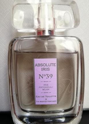 Туалетна вода the master perfumer absolute iris
