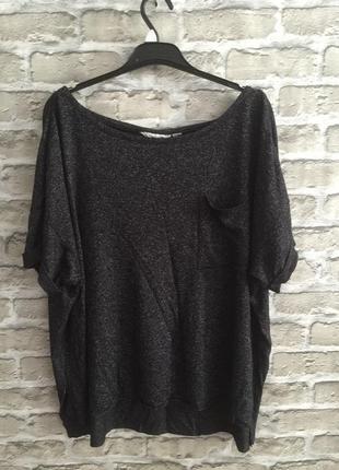 Кофта блузка футболка женская большой размер