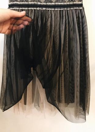 Платье с фатиновой юбкой 🔥