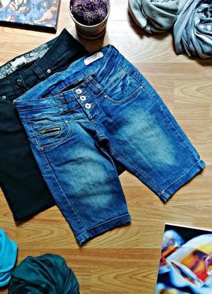 Женские легкие летние джинсовые шорты terranova - размер 42-44
