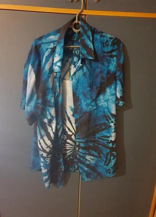 Легкая новая гавайская рубашка