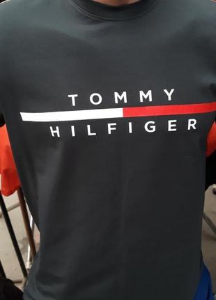 Футболка мужская tommy hilfiger.