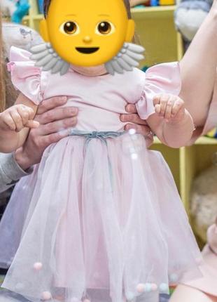 Сукня святкова на дівчинку 1 рік