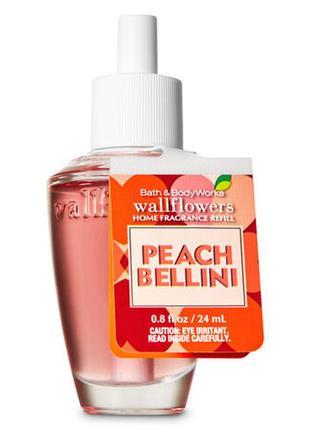 Фирменный аромат для дома peach bellini от bath&body works,usa