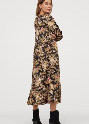 Шикарное платье h&m р.10(38)