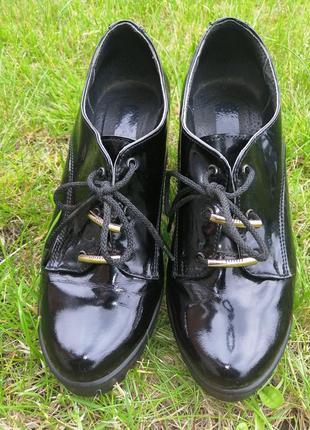 Ботиночки с шнуровкой, осенние ботинки, обувь на шнуровке