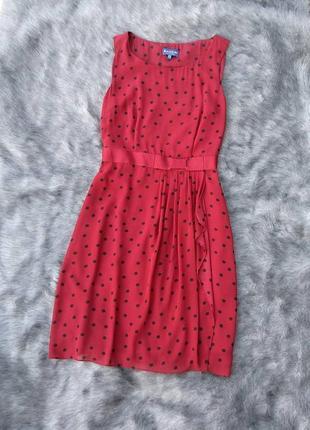 Платье в горошек biaggini