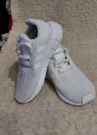 Кеды кроссовки adidas 26p белые