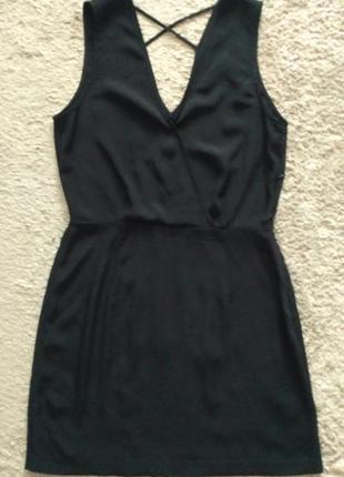 Черное платье коктейльное платье & other storie  р.40s р.