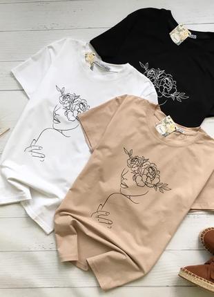Новые стильные базовые футболки