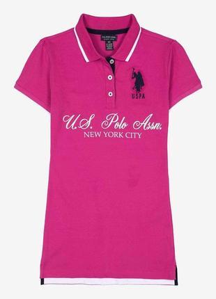 Женская футболка поло u.s. polo assn, р. l