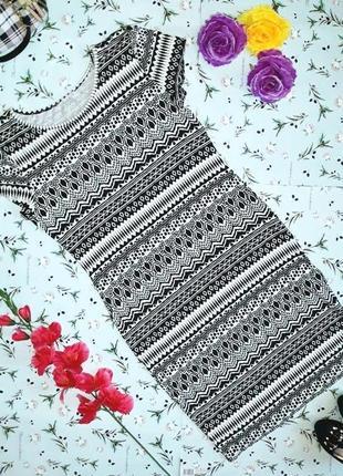 🌿1+1=3 фирменное трикотажное платье по фигуре peacocks, размер 48 - 50