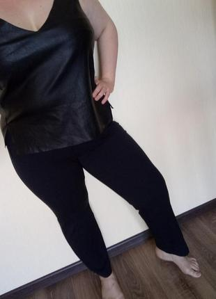 Классические брюки в офис и на каждый день большой размер 50 52 xl батал