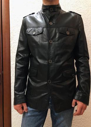 Шкіряна лайкова куртка