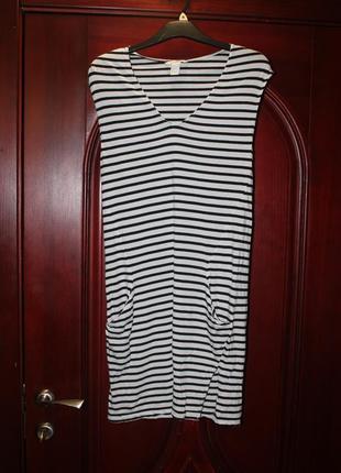 Трикотажное платье размер s от h&m