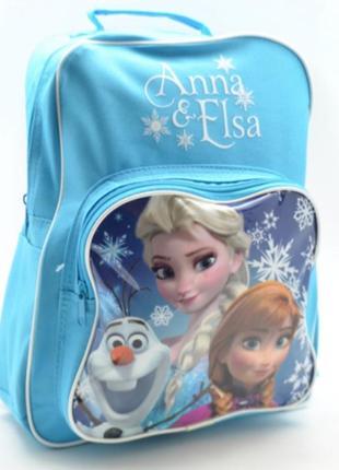 Рюкзак дошкільний disney anna &elsa
