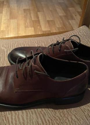 Продам кожаные туфли reserved 42 размер