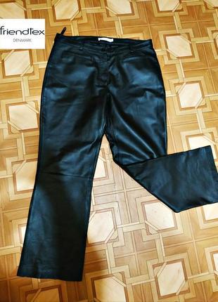 Шикарные кожаные штаны, германия р. xxl