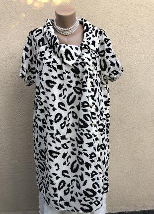 Новый летний кардиган реглан,платье,легкий тренч ,бархатный принт. большой размер