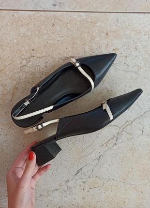 Туфли из натуральной кожи от marks&spencer