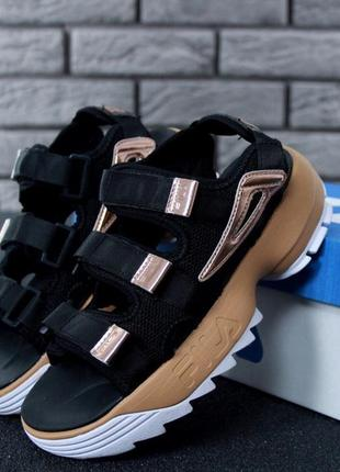 👟 женские сандалии fila disruptor 2 sandals (арт. 11561) 👟