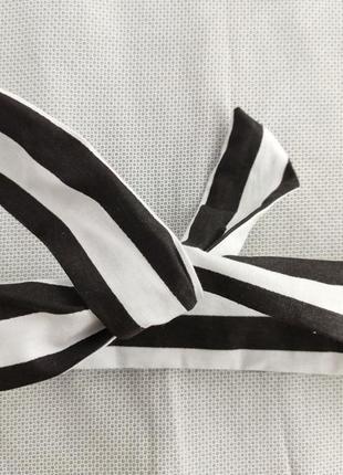 Пов'язка солоха чорно біла