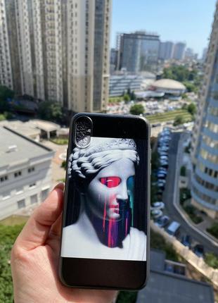 Чехол на iphone x/xs. новый, супер скидка и подарочки