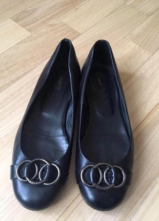 Туфли балетки люксовой марки  bally , италия, оригинал