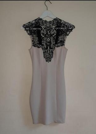 Вечернее мини-платье