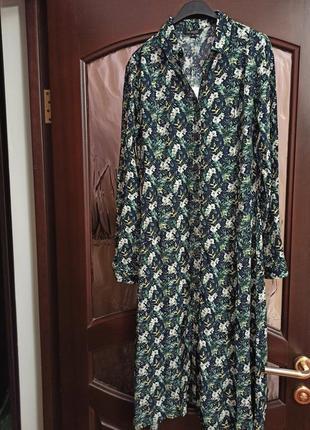 Новое трендовое платье рубашка, 100% вискоза, все размеры