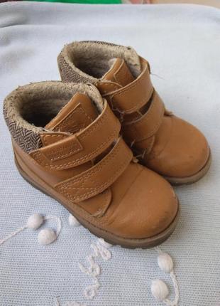 Деми ботинки, на липучках