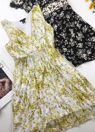 Легкое и воздушное шифоновое платье