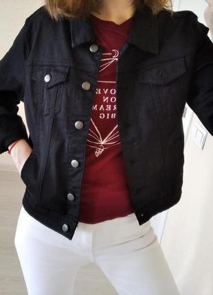 Джинсовая куртка flash jeans р.36-38