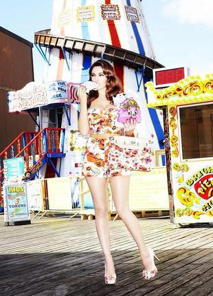 Винтажная коллекция new look, шорты, kelly brook